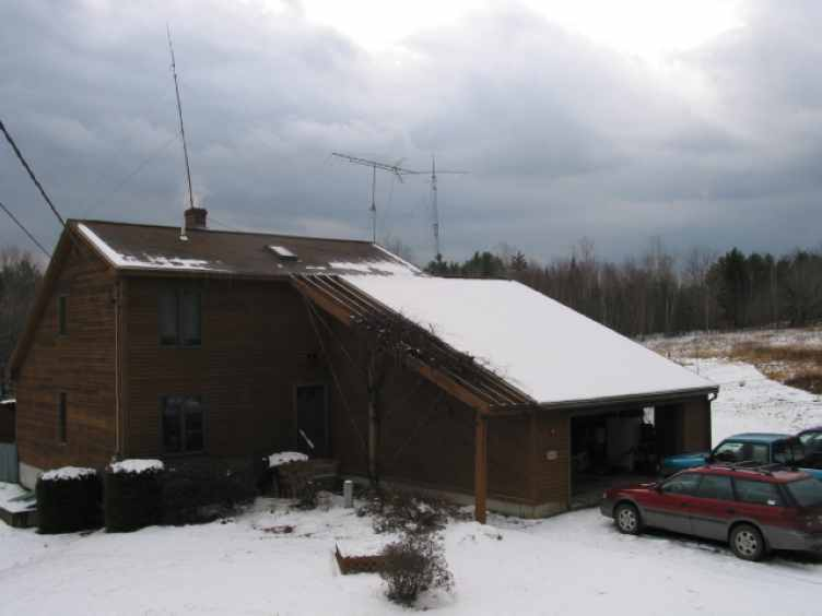 A Snow Covered N2NQM Home!