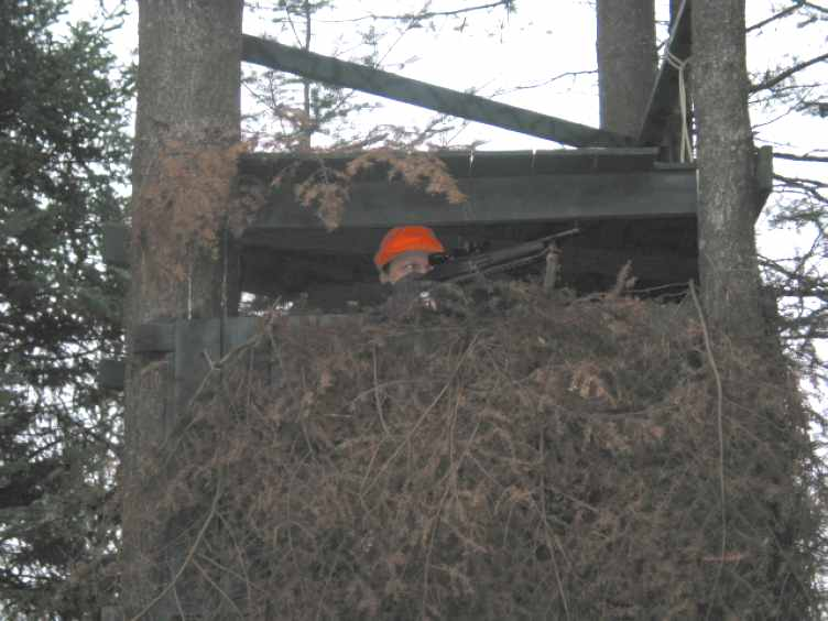 N2NQM in his Deer Stand!